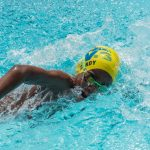 Day two events in the 26th OECS Swimming Championships held at the Shrewsbury Aquatic Center.